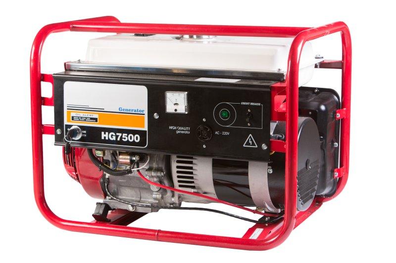 бензиновый электрогенератор honda hg 7500 se